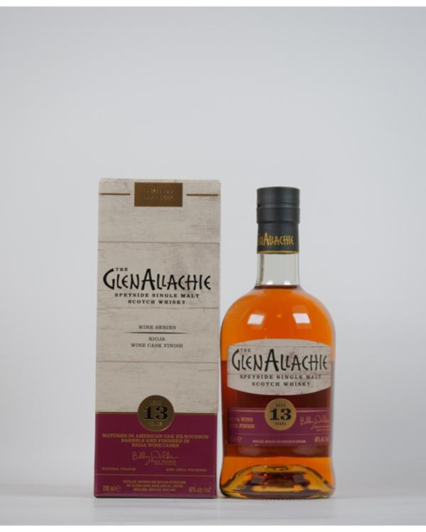 グレンアラヒー 13年 リオハ ワインカスク フィニッシュ 700ml / 48%