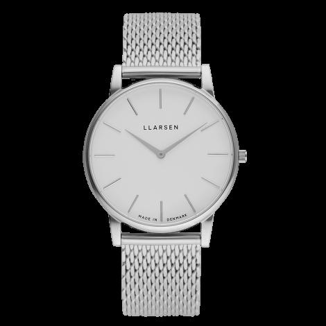 OLIVER (LW47) Steel Bracelet / white dial 【men's FUDGE 8月号掲載】
