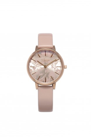 【Winter Sale! 80%OFF】 SUNFLOWER (LW46) Rose gold with Powder Pink