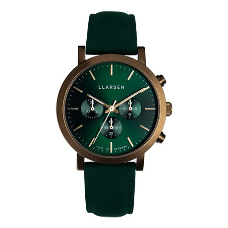 NOR Chronograph (LW49) -Bronze with green strap