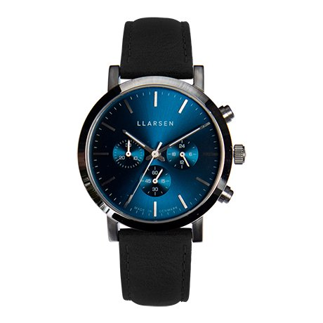 NOR Chronograph (LW49) - Stainless with ink strap  【MEN'S NON-NO 4月号掲載】
