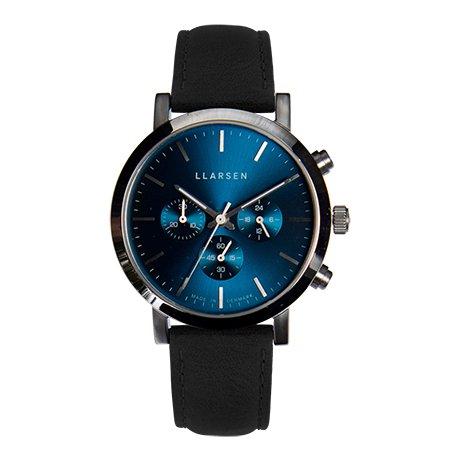 【期間限定プライス・Valentine's Day ギフトに最適】NOR Chronograph (LW49) - Stainless with ink strap / Deep Ocean Blue