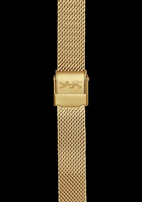 Gold Mesh Bracelet 18mm