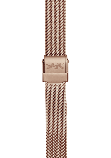 Rose gold Mesh Bracelet 18mm