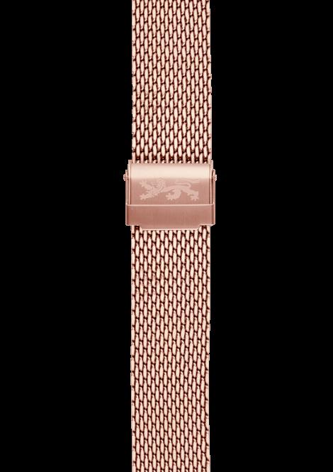 Rose gold Mesh Bracelet 20mm