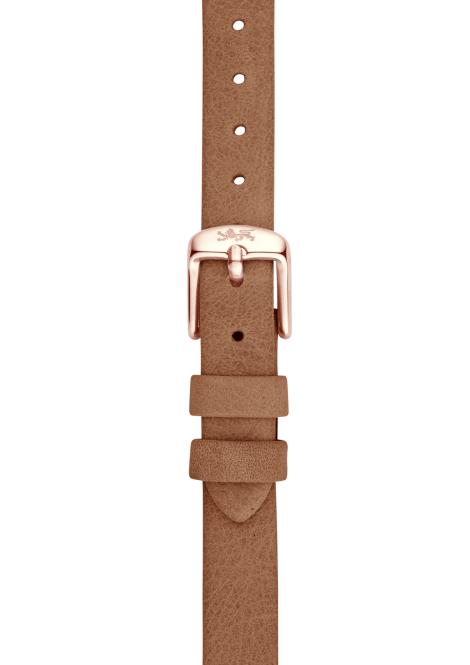 Camel leather strap 12mm
