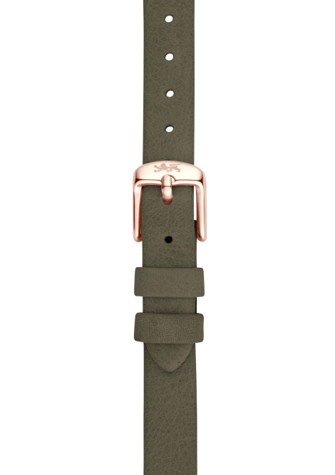 Forest leather strap 12mm