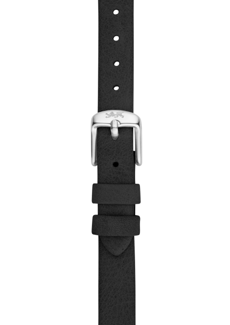 Coal leather strap 12mm
