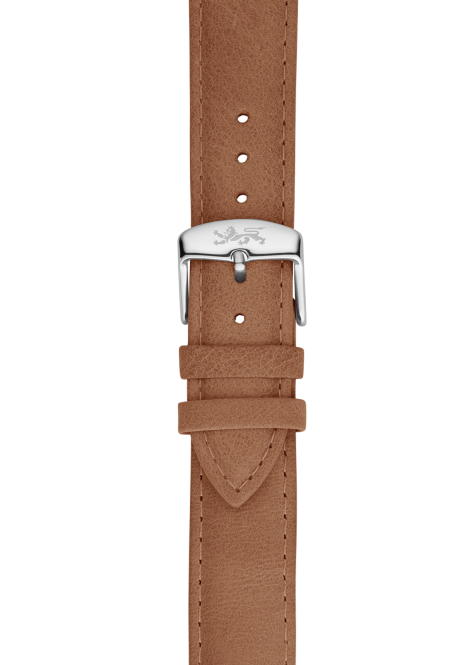 Camel leather strap 20mm