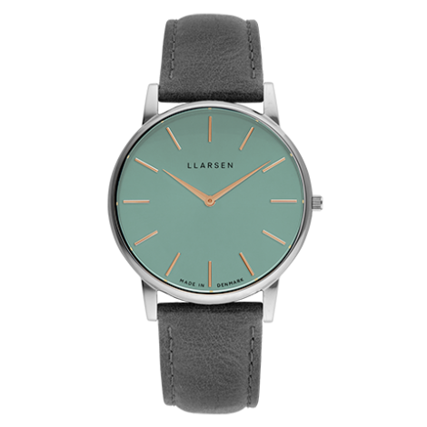 2020AW日本限定コレクション OLIVER(LW47)Steel with grey leather strap / Teal dial