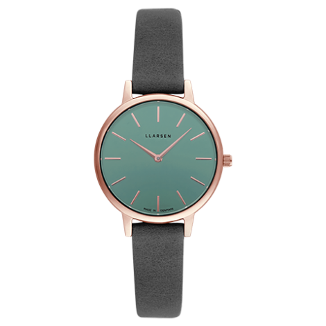 2020AW日本限定コレクション CAROLINE(LW46)Rose gold with grey leather strap / Teal dial