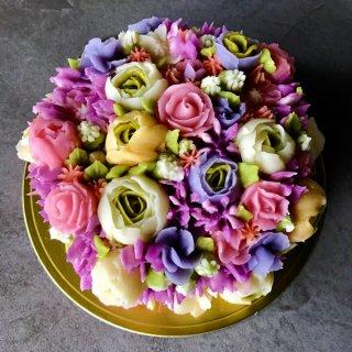 フラワーケーキ(5号サイズ)