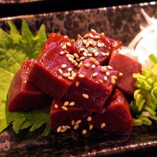 【限定100】熊本直送 新鮮 馬肉 希少部位『馬ハツ刺し』(生食用)1人前50g〜