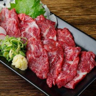 【限定300】熊本直送 新鮮 赤身肉 馬刺し『ヒレ』(生食用)1人前50g〜