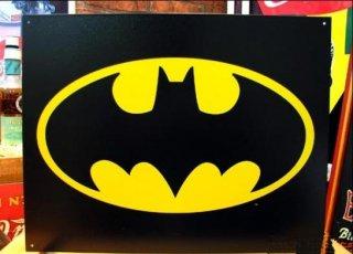 ブリキ看板 BATMAN ロゴ