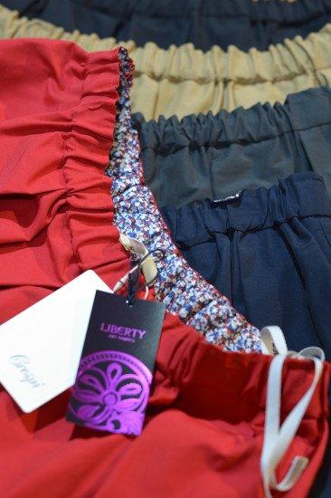 Crespi(クレスピ)<br>グログランスカート 67cm丈