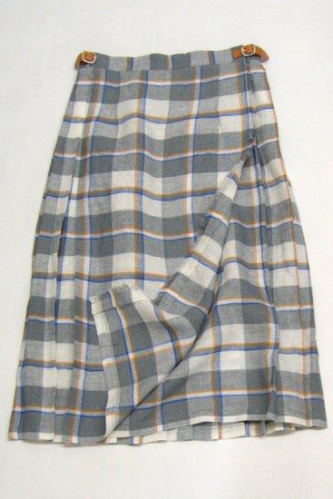O'neil of Dublin オニールオブダブリン タータンチェック ラップスカート