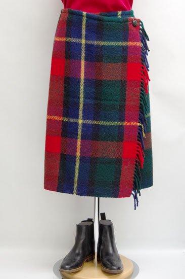 Michel Beaudouin X Tweedmill ミッシェル・ボードワン X ツィードミル コラボレーション ラップスカート