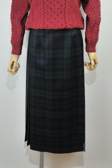 【CLUEL01/02月号掲載商品】<br>O'neil of Dublin<br>(オニール・オブ・ダブリン)<br>タータンチェック キルトスカート 83cm丈