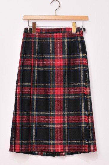 O'neil of Dublin<br>(オニール・オブ・ダブリン)<br>タータンチェック キルトスカート 67cm丈