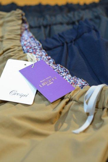 Crespi(クレスピ)<br>グログランスカート 80cm丈