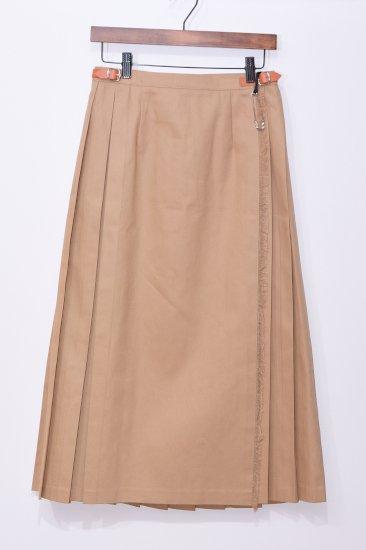 O'neil of Dublin<br>(オニール・オブ・ダブリン)チノクロス ラップスカート 83cm丈