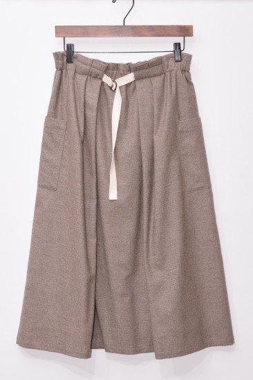 【CLUEL掲載商品】<br>Vent d'ouest par Le minor<br>(ヴァンドウェスト パー ルミノア)<br>ストレッチツイード スカート