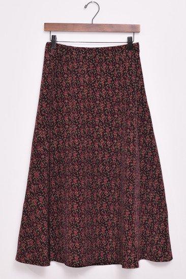 【CLUEL11月号掲載商品】<br>Cresipi(クレスピ)<br>デシンプリント フレアスカート