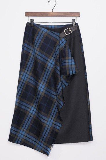 O'neil of Dublin(オニール・オブ・ダブリン) ラップスカート 77cm丈