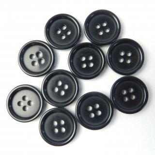 模様入り濃紺系ボタン/18mm/4穴/コート袖口・カーディガンに最適