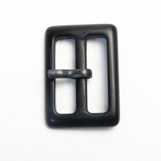 黒色ピン付ミニバックル/内径25mm/本体素材:プラスチック/ピン素材:メタル系/コート・ハンドメイド・手芸・コスプレに最適