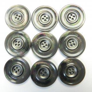 貝調のグレー系組み合わせボタン/20mm/4穴/スーツやジャケットに最適