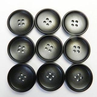 グレー系のグラデーションボタン/23mm/4穴/コートに最適