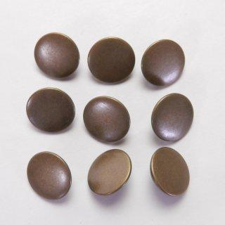 ツヤ消しのアンティークゴールド系メタルボタン/15mm/足つき/ハンドメイド雑貨やジャケットに最適