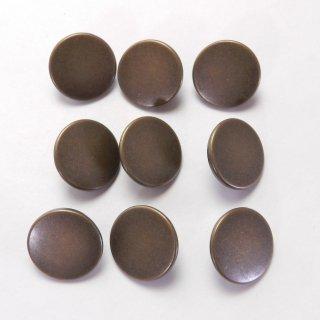 ツヤ消しのアンティークゴールド系メタルボタン/18mm/足つき/ハンドメイド雑貨やジャケットに最適