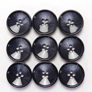 紺色系の貝調ボタン/19mm/4穴/ジャケット・カーディガン・ニット・手芸に最適