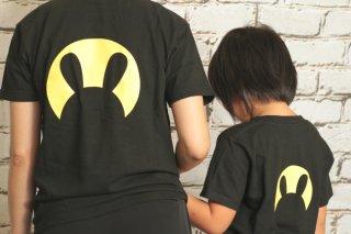 まんまる月うさぎTシャツ(子供用)
