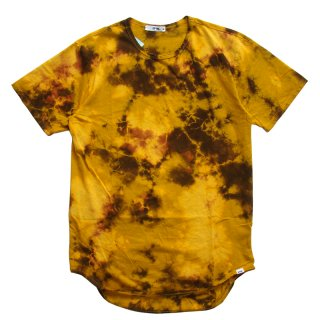EPTM. MUSTARD BROWN TIE DYE OG LONG TEE