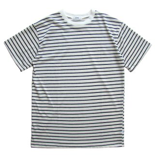 EPTM. WHITE BLACK STRIPE BOX TEE