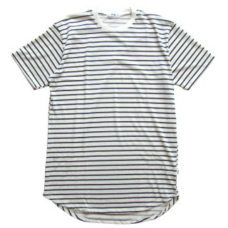 EPTM. WHITE BLACK STRIPE 2.0 OG LONG TEE