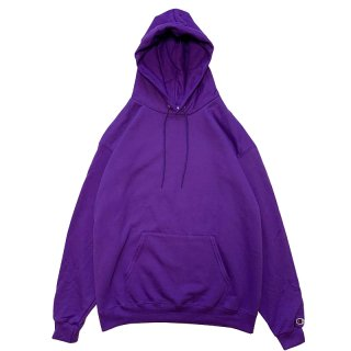 CHAMPION AUTHENTIC PULLOVER HOOD PURPLE