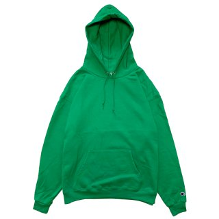 CHAMPION AUTHENTIC PULLOVER HOOD KELLY GREEN