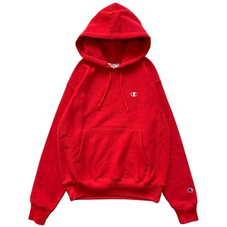 CHAMPION REVERSE WEAVE PULLOVER HOODY TEAM RED
