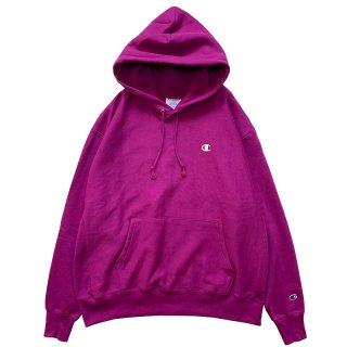 CHAMPION REVERSE WEAVE PULLOVER HOODY SPRY BERRY PURPLE