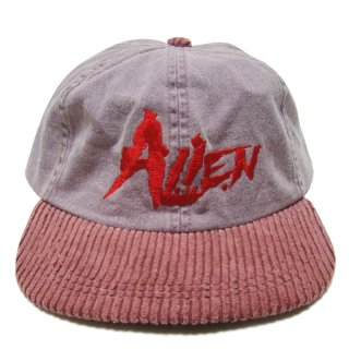 A.L.I.E.N. LIMITED EDITION CORDUROY RED STRAP CAP
