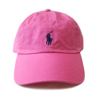 POLO RALPH LAUREN 6 PANEL CAP MAUI PINK