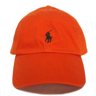 POLO RALPH LAUREN 6 PANEL CAP ORANGE