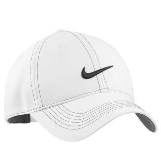 NIKE GOLF SWOOSH FRONT CAP WHITE