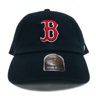 """'47 BRAND """"BOSTON RED SOX"""" CLEAN UP TWILL CAP NAVY"""