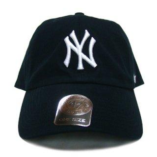 "'47 BRAND ""NEW YORK YANKEES"" CLEAN UP TWILL CAP NAVY"